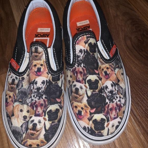 ASPCA Dog vans for kids size 10 1/2